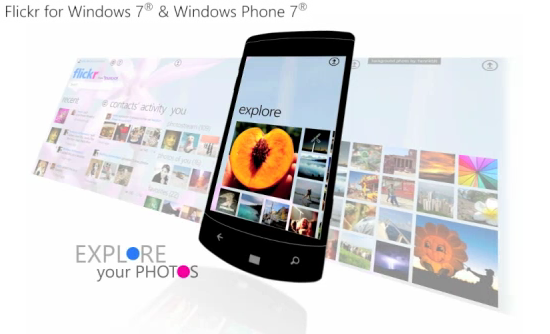 flickr wp71 Flickr para Windows 7 y Windows Phone 7