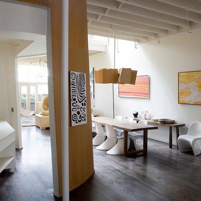 Interiores de casas modernas detalles vivos - Colores para interiores de casas modernas ...