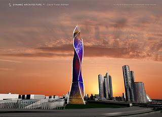 las prximas ciudades en tener un rascacielos giratorio sern mosc que ocupar nada ms y nada menos que metros y tendr