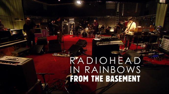 radiohead in rainbows from the basement dvd mf