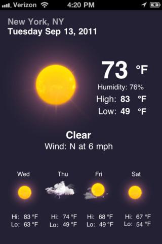 Tiempo weather v3 2 1 gran aplicacion para el clima en tu for Aplicacion del clima