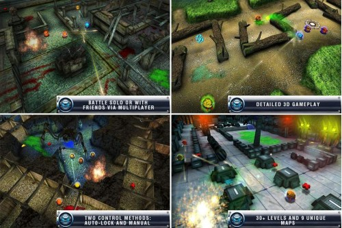 Iron Wars Un Adictivo Juego Gratis Para Celulares Android