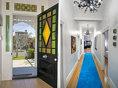 Dise o de interiores de casas algo celestial for Diseno pasillos interiores