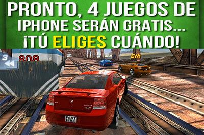 Gameloft Regalara 4 Juegos Para Iphone Gratis