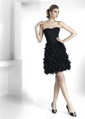 Que esta de moda en vestidos de fiesta