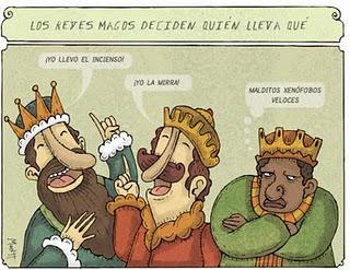 chistes sobre los tres reyes magos: