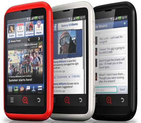 INQ CLOUD TOUCH INQ Cloud Touch y Cloud Q: equipos Android centrados en Facebook