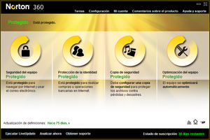 Norton 360: antivirus