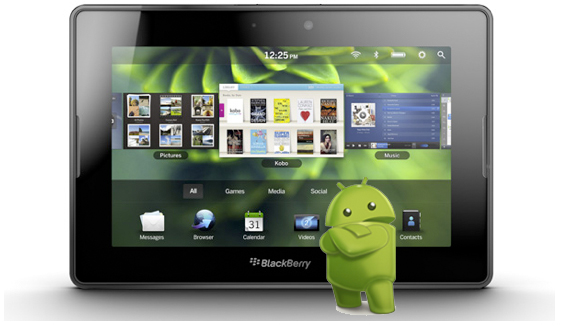 QNX Anroid BlackBerry Playbook correría aplicaciones Android de forma nativa
