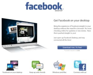 facebook desktop Facebook Desktop: ver las notificaciones de Facebook en el escritorio