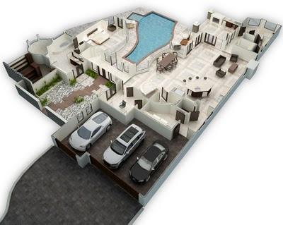 Planos 3d dise os que cobran vida for Diseno de casas 3d online