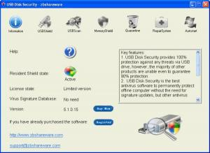 USB Disk Security: antivirus para memorias usb