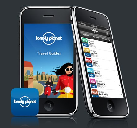 Lonely planet en iphone