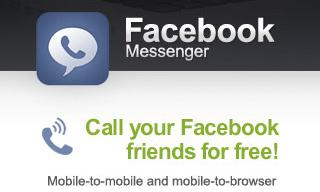 FB messenger Facebook Messenger para iOS ahora con chat de voz