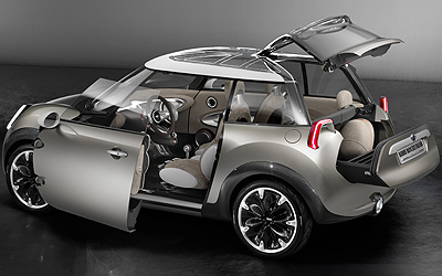 MINI Rocketman Concept.Prototipo.