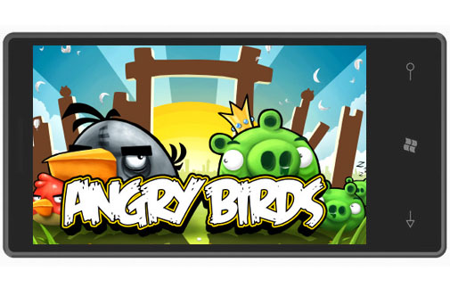 birds Windows Phone 7 tendrá Angry Birds