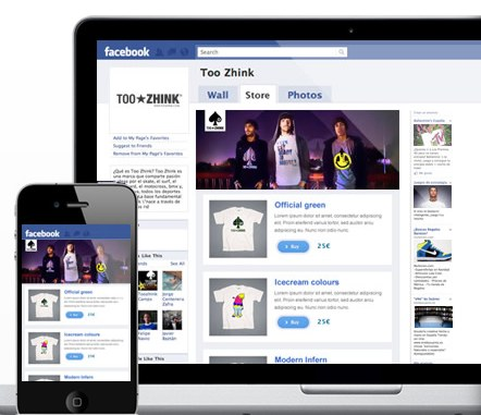 QStoms Crear tienda virtual en Facebook