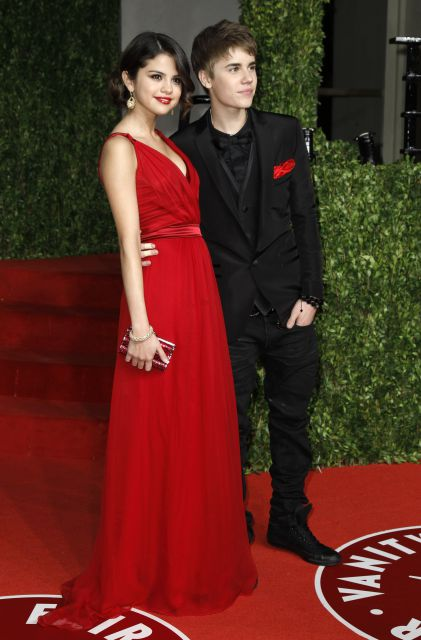 justin bieber and selena gomez oscars 2011. hot Selena Gomez and Justin