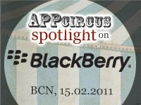 BlackBerry Developer Day Muestra tu aplicación Blackberry en AppCircus Spotlight durante MWC 2011