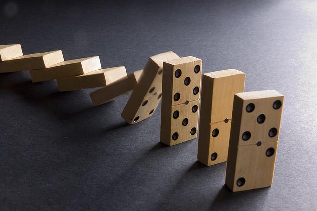 efecto domino:
