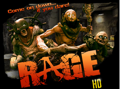 Rage HD IPhone 4, Ipad, Ipod Touch