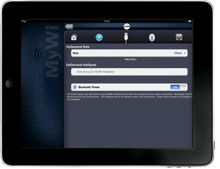 Usar el iPad como módem con MyWi On Demand