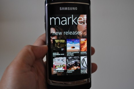 Photo of Zune Marketplace running on Windows Phone 7 468x310 Windows Phone Marketplace ya tiene 9.000 aplicaciones