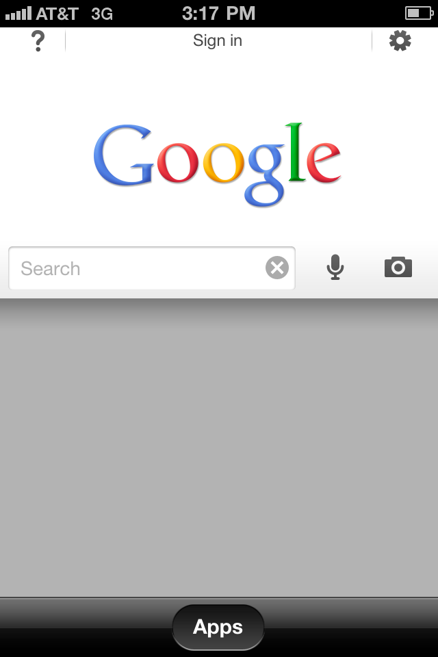 google search app Aplicación Google Search para iPhone