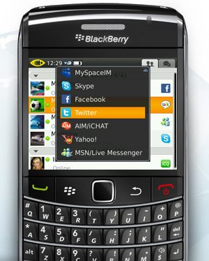 im talk IM+ Talk: Skype para Blackberry