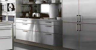 Materiales para tus muebles de cocina - Muebles de cocina metalicos ...