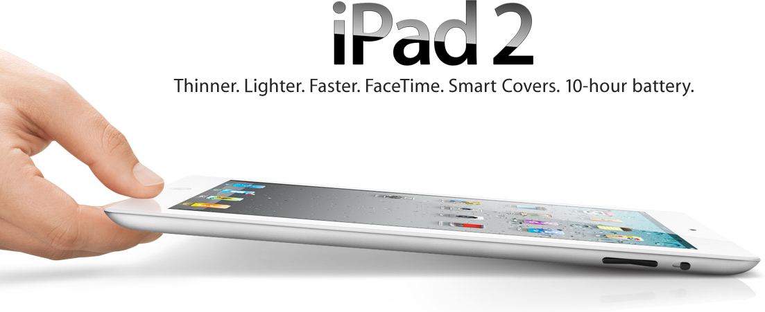 Apple iPad 2 Toda la información oficial del iPad 2