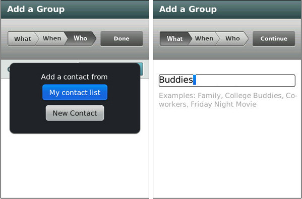groupme app GroupMe para BlackBerry