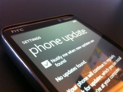 wp7update Actualización NoDo de Windows phone 7 disponible