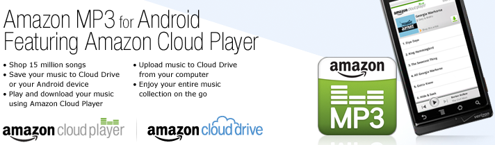 Amazon Cloud Player Android Amazon Cloud Player para Android