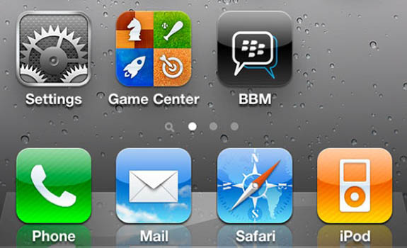BBM iPhone Rumor: BlackBerry Messenger a punto de llegar a iPhone [RIM lo niega]