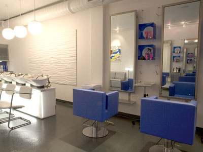Una peluquer a con decoraci n pop - Decoracion para peluqueria ...