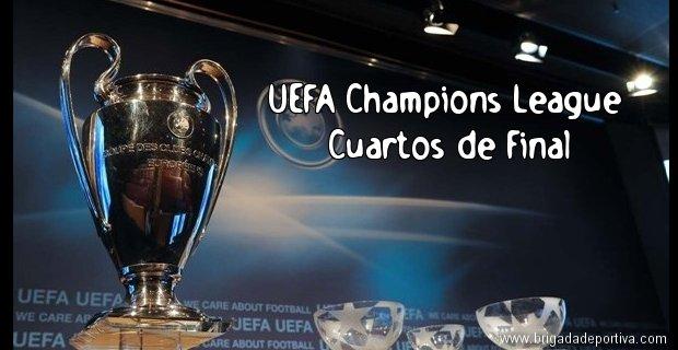 Uefa champions league: cuartos de final partidos de vuelta