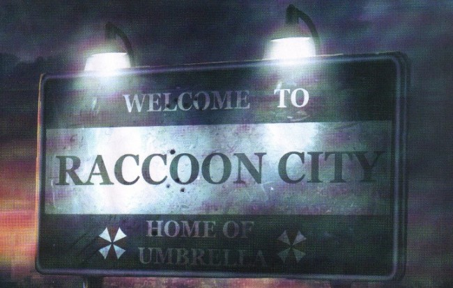 welcome to racoon city resident evil