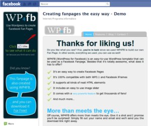 wp4fb WP4FB: instalar un theme de Wordpress en Facebook