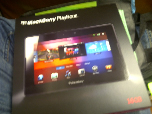 Manhattan 20110414 00091 610x457 BlackBerry PlayBook: Unboxing completo