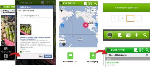 evernote android update 610x274 Evernote para Android se actualiza a lo grande