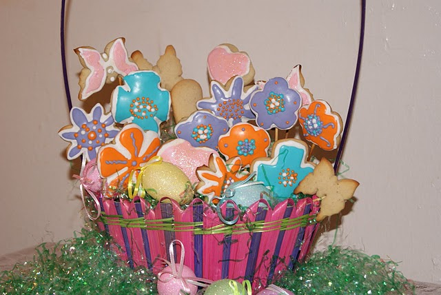Con estas galletas quiero celebrar la llega de la primavera, con