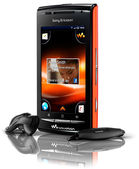 SEW81 Sony lanza Walkman W8 con Android 2.1