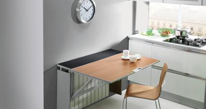C mo crear un peque o comedor en tu cocina - Cocina comedor pequeno ...