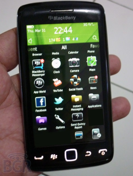 BlackBerry Touch Monza BlackBerry Touch Monaco/Monza 9850 en video!