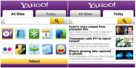 yahoo 468x234 Yahoo Mobile App para BlackBerry