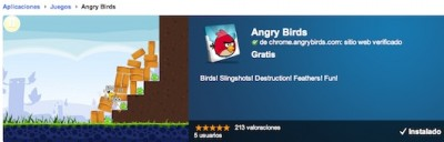 Angry Birds html5 400x128 Angry Birds HTML 5 disponible en Chrome Web Store