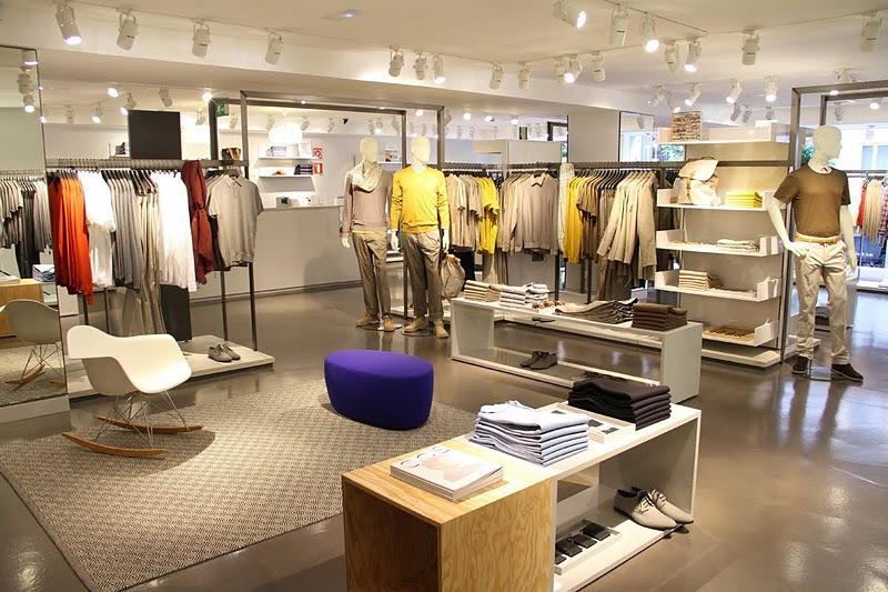 Cos madrid for Disenos de tiendas de ropa modernas