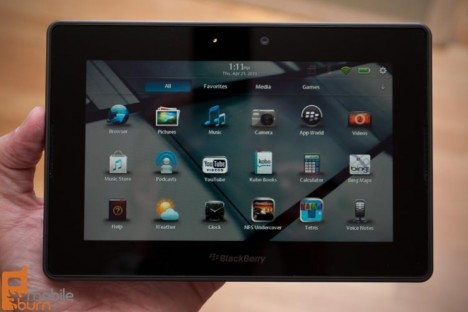 blackberry playbook 468x312 Se estiman 250.000 BlackBerry PlayBook vendidas el primer mes