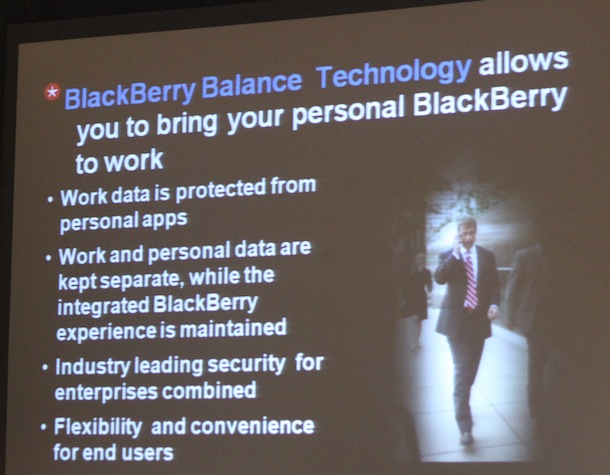blackberry balance demo Nuevos Servicios de RIM: Blackberry ID y Blackberry Balance